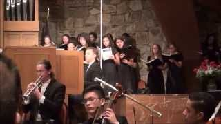 """How Great Thou Art"" Arr. Dan Forrest - 2015 WAU Choral Festival"