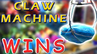 BIG Claw Machine Wins! - Journey to the Claw Machine Matt3756
