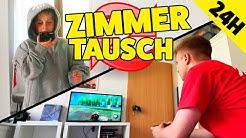 1 TAG ZIMMER TAUSCHEN 😱  ASH VS MAX 🤣 TipTapTube