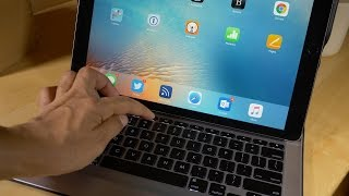 review logitech create backlit keyboard case for ipad pro