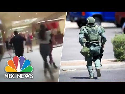 El Paso, Texas, Shooting: Witness Videos Capture Terrifying Scene | NBC News