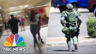 el-paso-texas-shooting-witness-videos-capture-terrifying-scene-nbc-news