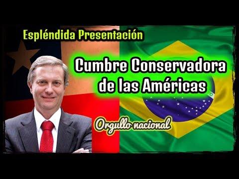 José Antonio Kast en La Cumbre Conservadora de las Américas