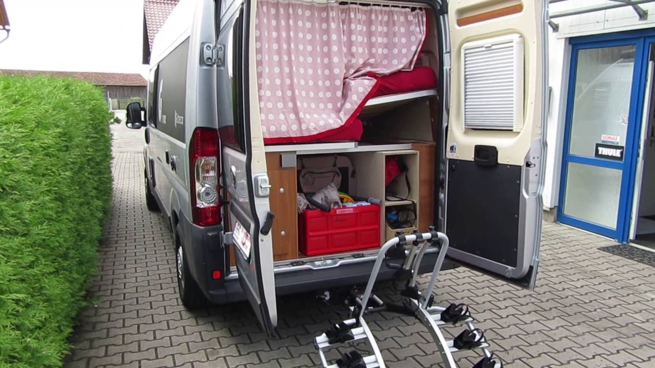 anh ngerkupplung und fahrradtr ger f r p ssl globecar b rstner citycar hymer usw youtube. Black Bedroom Furniture Sets. Home Design Ideas