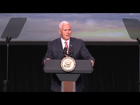 Vice President Mike Pence Delivers Remarks at the 34th Space Symposium