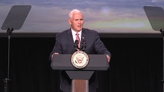 connectYoutube - Vice President Mike Pence Delivers Remarks at the 34th Space Symposium