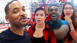 Surprising Unsuspecting Shoppers at Target!