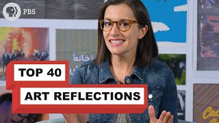 My Top 40 Art Reflections