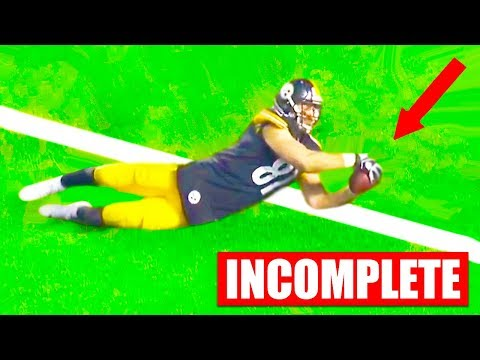 Most Controversial Calls In NFL History