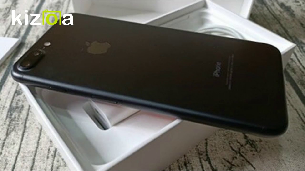 【3C宅急修】Apple iPhone 7 Plus 消光黑 128GB 附配件 售後保固一個月 - YouTube