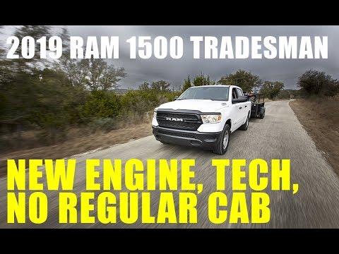 2019 Ram 1500 Tradesman Work Truck Overview