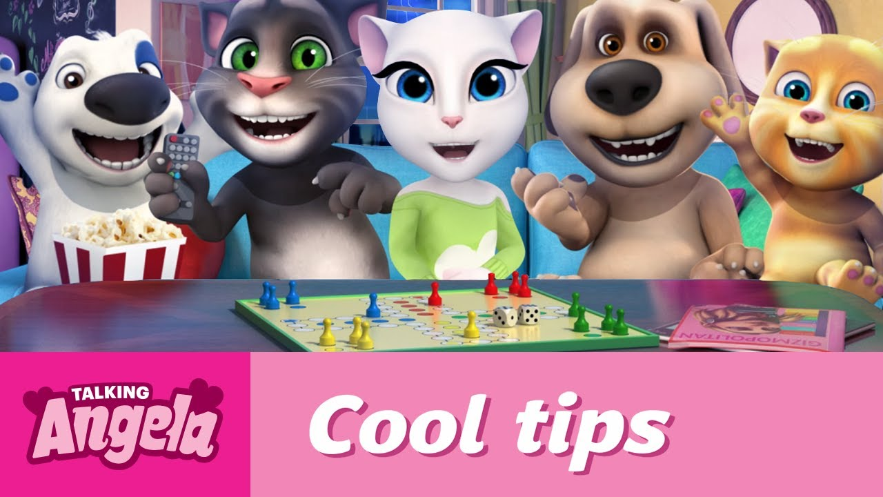 1eb8e54f150fa Talking Angela s Cool Tips - What to Do on a Rainy Day - YouTube