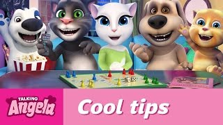 talking angela s cool tips what to do on a rainy day