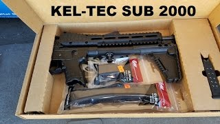 Kel Tec Gen 2 Sub 2000 (First Impressions Review) .40 S&W