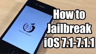 How to Jailbreak iOS 7.1 - 7.1.2 Untethered using Pangu on Windows