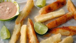Receta Para Hacer Yuca Frita - Cómo Hacer Papitas De Yuca - Sweet Y Salado