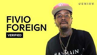 """Fivio Foreign """"Big Drip"""" Official Lyrics & Meaning   Verified"""