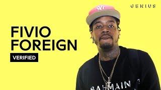"Fivio Foreign ""Big Drip""  Lyrics & Meaning | Verified"