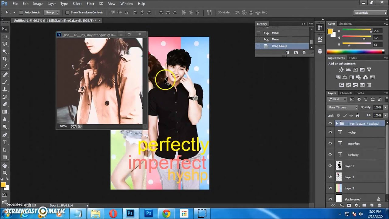 How To Make A Book Cover On Wattpad : Photoshop cc cs how to make a simple humor book