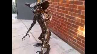 Gremlin 100cm Figure Metal Art Productions Scrap Parts Sculpture