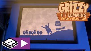 Il teatro delle ombre | Grizzy e I Lemming | Boomerang