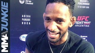 UFC Fight Night 140: Neil Magny full media day interview