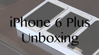iPhone 6 Plus Triple Unboxing! [Silver, Gold, Space Grey]