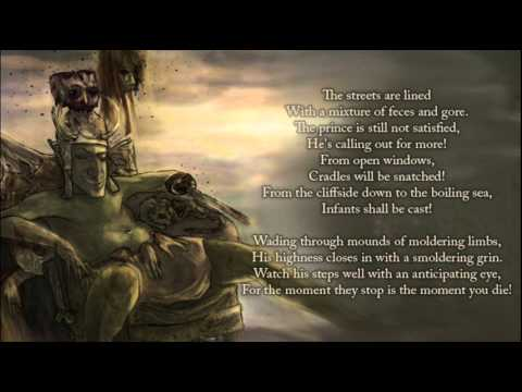 Nekrogoblikon - Prince of the Land of Stench (lyric video)