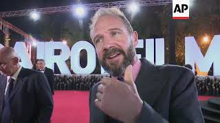 British Actor And Director, Ralph Fiennes, Brings New Film To Cairo International Film Festival