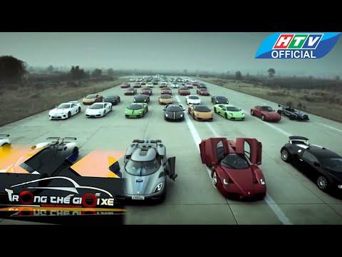 5 mãnh thú siêu xe của thời đại | Trong Thế Giới Xe | HTV