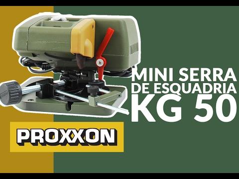 MINI SERRA DE ESQUADRIA KG 50 CORTES EM MADEIRAS E METAIS - 27150 - PROXXON - CASA JA NAKAO