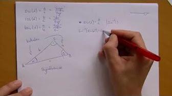 trigonometrie trigonometrische funktionen. Black Bedroom Furniture Sets. Home Design Ideas