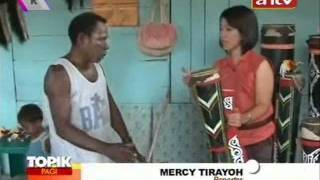 TOPIK ANTV Tifa Alat Musik Tradisional Papua - Stafaband