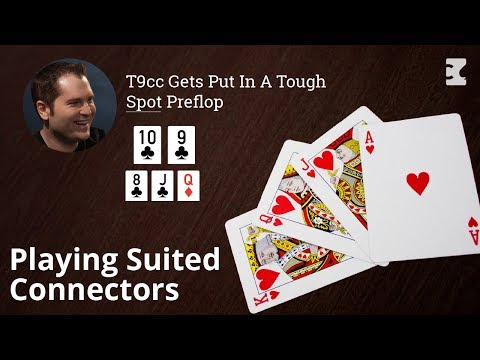 Poker Strategy: Playing Suited Connectors In A 3 Bet Pot