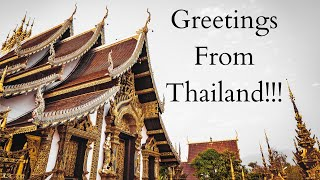 Greetings from Thailand!!!