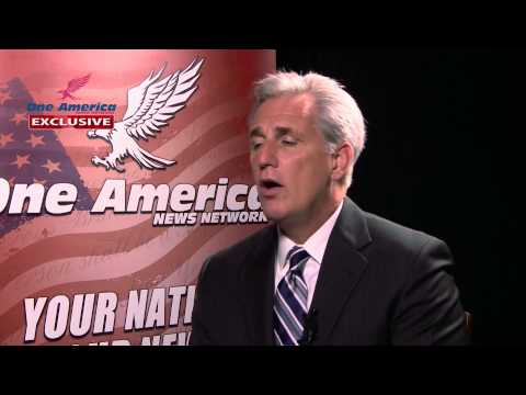 Exclusive: New House Majority Leader Talks To One America News Network