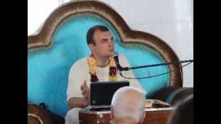 Радха Говинда - Шримад Бхагаватам 2.3.24(Лекция Радха Говинды прабху по Шримад Бхагаватам 2.3.24, прочитанная в киевском храме