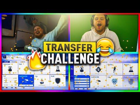 TRANSFER CHALLENGE VS FROLLE!! - FIFA 19 SVENSKA