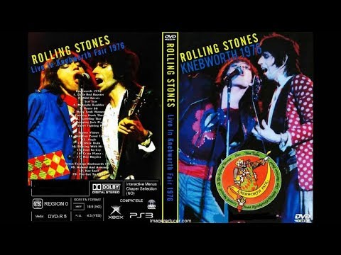 The Rolling Stones - From The Vault - Rare Knebworth Fair 1976 Proshot DVD (2018)