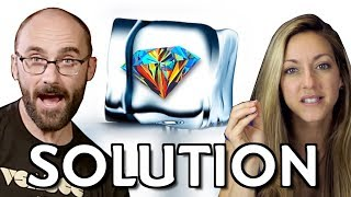 Ice Diamond Riddle SOLUTION ft. Vsauce's Michael Stevens