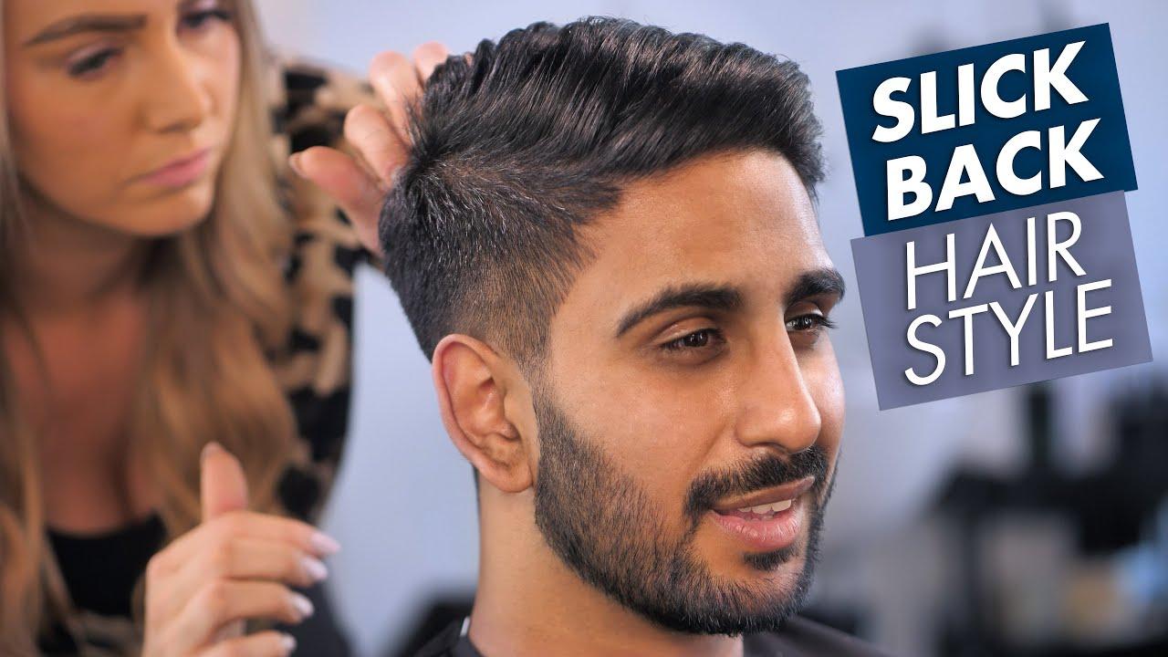 Men Hairstyle Slick Back For Summer 2019 Youtube