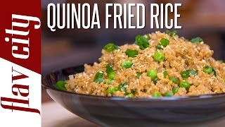 Quinoa Fried Rice - Easy Quinoa Recipe - FlavCity with Bobby