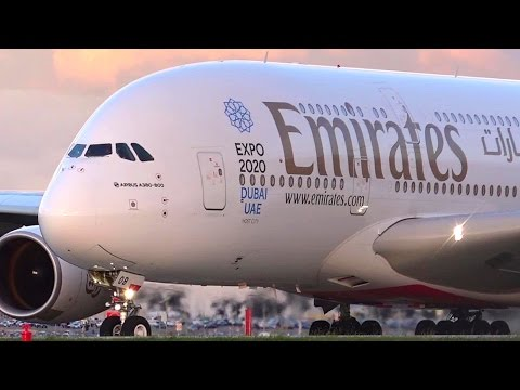 The Middle Eastern 3 at Melbourne Airport Australia ● Qatar, Emirates & Etihad A380s & 777s!