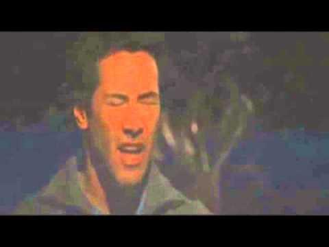Keanu Reeves tries desperately to sneeze