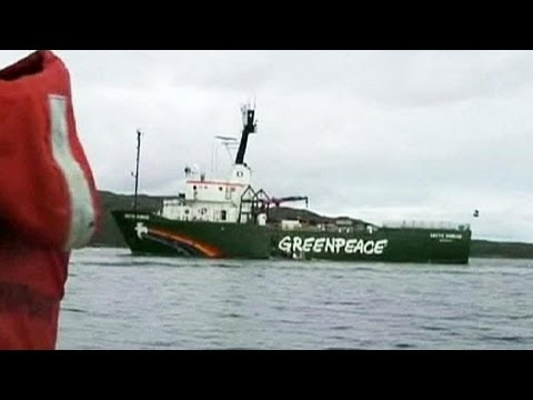 Russia says Greenpeace Arctic protesters face piracy charges