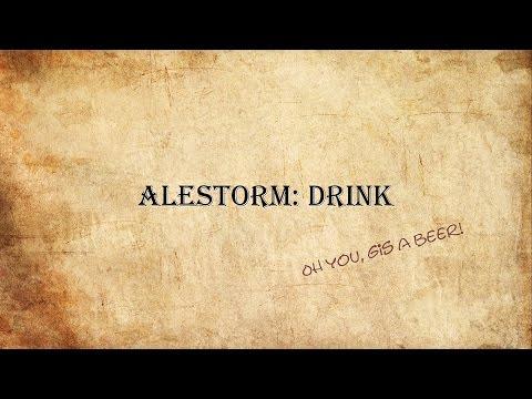 Alestorm: Drink Lyric old Version!