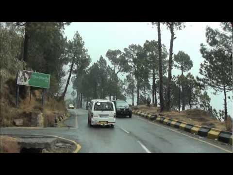Rainy Journey Murree to Jhika Gali