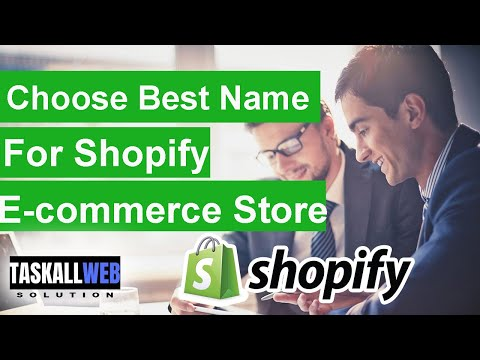 How to choose a Perfect name for Shopify dropshipping store | Shopify tutorials hindi thumbnail