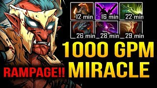 MIRACLE 1000GPM in 30 Minutes - IS IT REAL??? Dota 2
