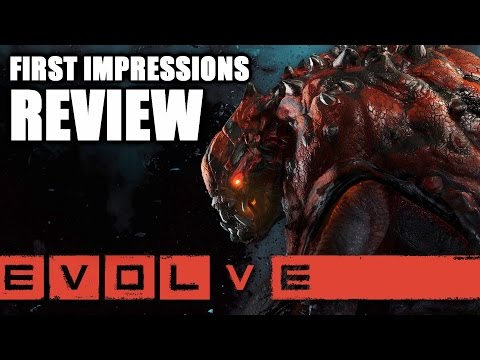 Evolve First Impressions and Review - Goliath Monster Gameplay (Evolve Gameplay)